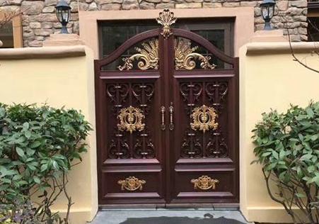 全封闭式庭院大门