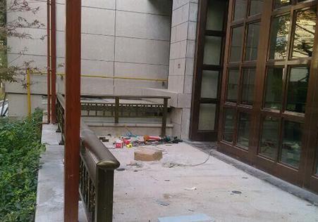 室外铝合金围栏