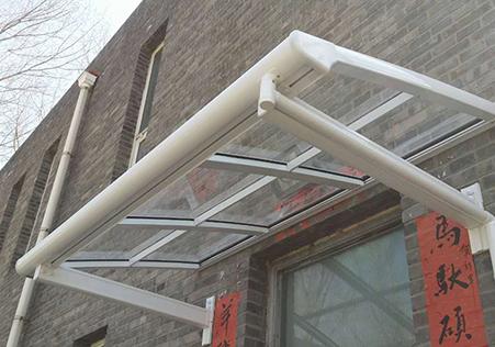 L型窗台遮阳雨棚