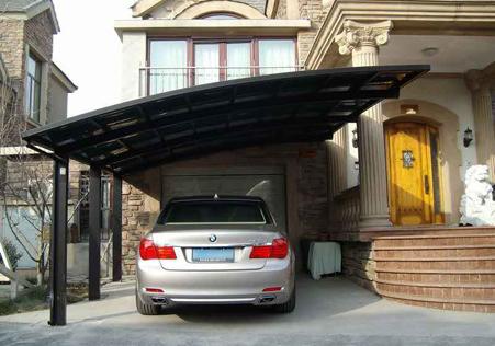 别墅小轿车车棚